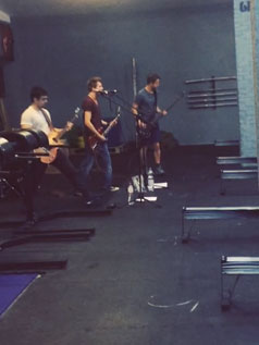 Live-Musik bei CrossFit 6P