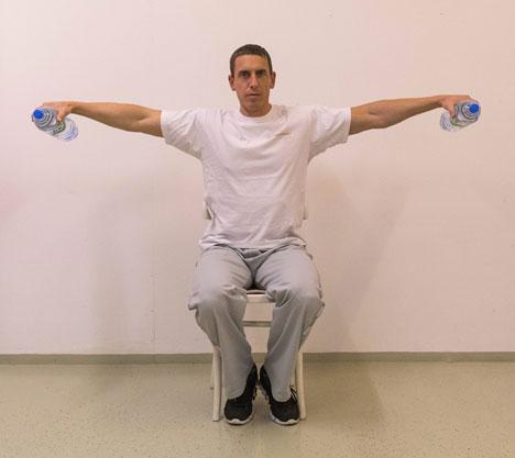 Home-Workout für Schultern und Nacken