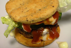 Low-Carb Hamburger
