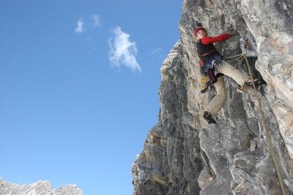 Was ist Alpinklettern
