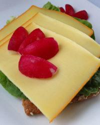 Gauda Käse Brot