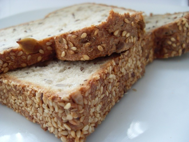 Tsatsiki auf Low Carb Brot