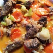 Beef Strange Curry Rezept