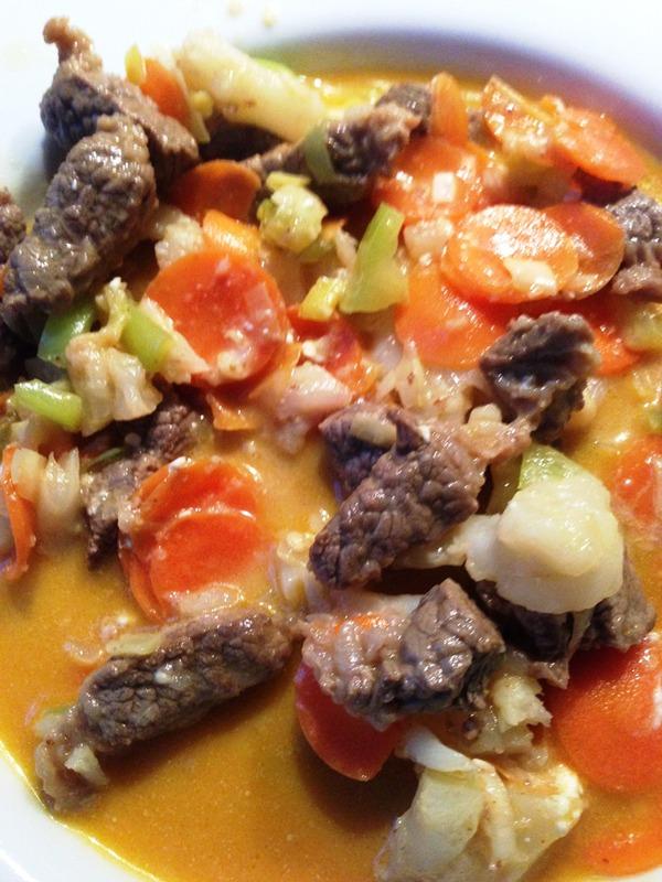 Beef Strange Curry Rezept