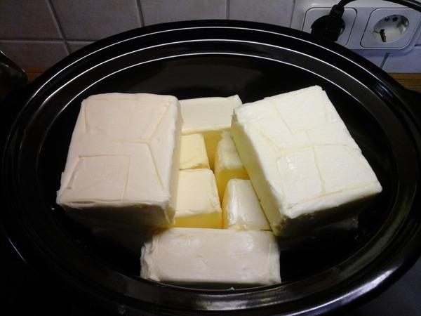 Ghee selbst gemacht aus Butter
