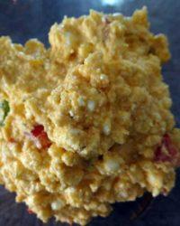 Griechischer Feta Käse Salat pikant