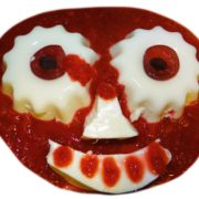 Rezept blutige Augen - Halloween-Essen