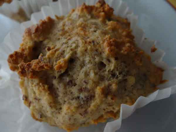 Low-Carb Haselnuss Muffins