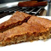 Veganer Low-Carb Mandelkuchen