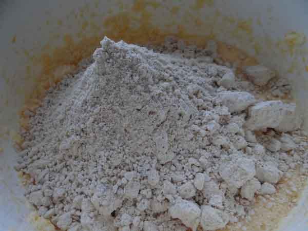 Low-Carb Nusskuchen Vorbereitung