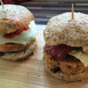 Low-Carb Party Hamburger - ein Genuss