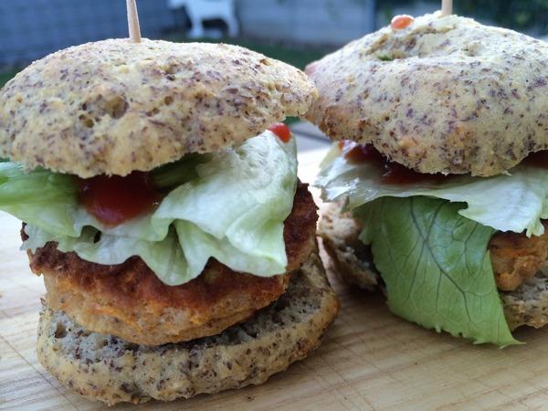 Low-Carb Party Hamburger - lecker
