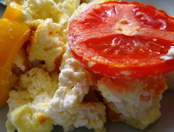 Ricotta Auflauf mit Tomaten und Schafskäse