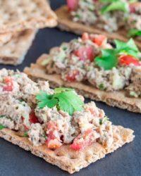 Rezept für Lower-Carb Tuna-Toast
