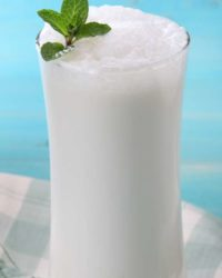 Rezept für Gute-Nacht-Drink mit Quark