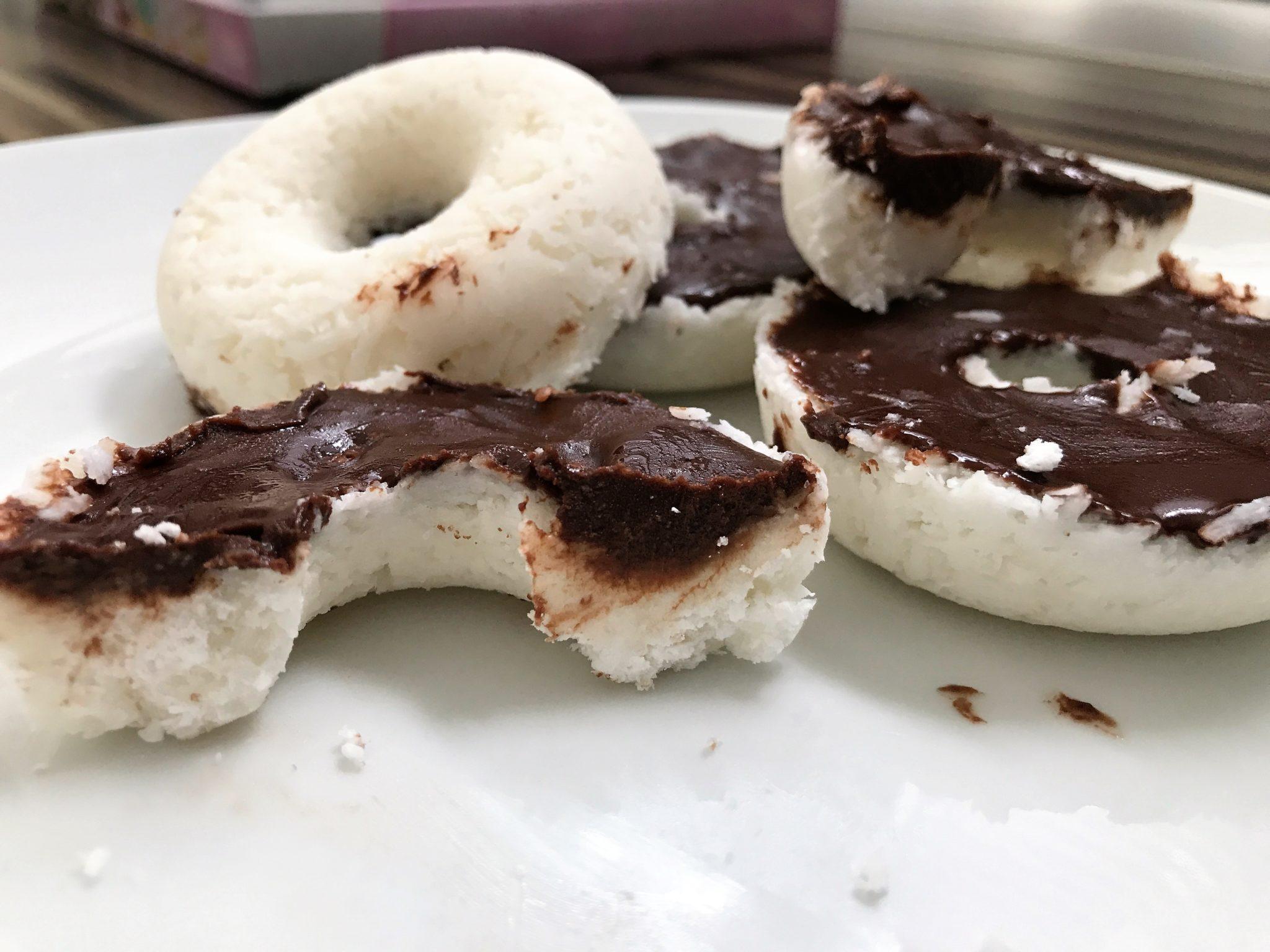 Schoko Kokos Donut
