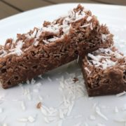 Schoko Kokos Riegel - Low-Carb Rezept