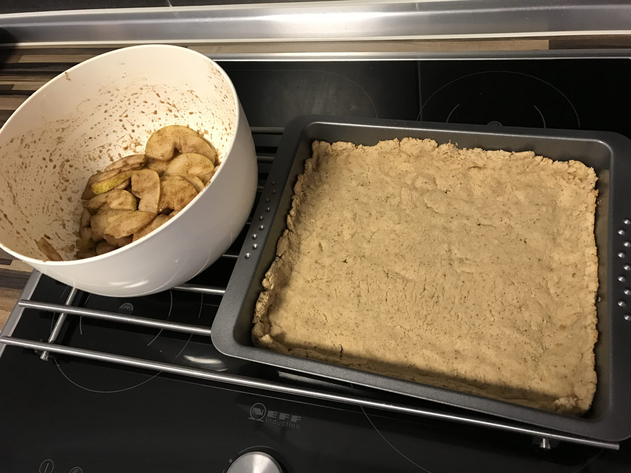 Low-Carb Birnen Tarte Zubereitung
