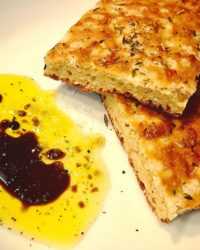 Focaccia Rezept ohne Mehl und Low Carb