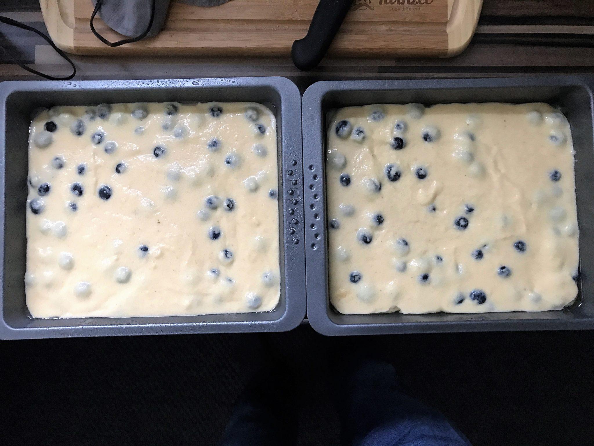 Low-Carb Ofenpfannkuchen in der Backform