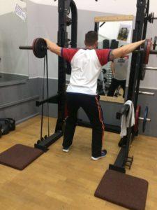 Intensives Training mit Teilwiederholungen