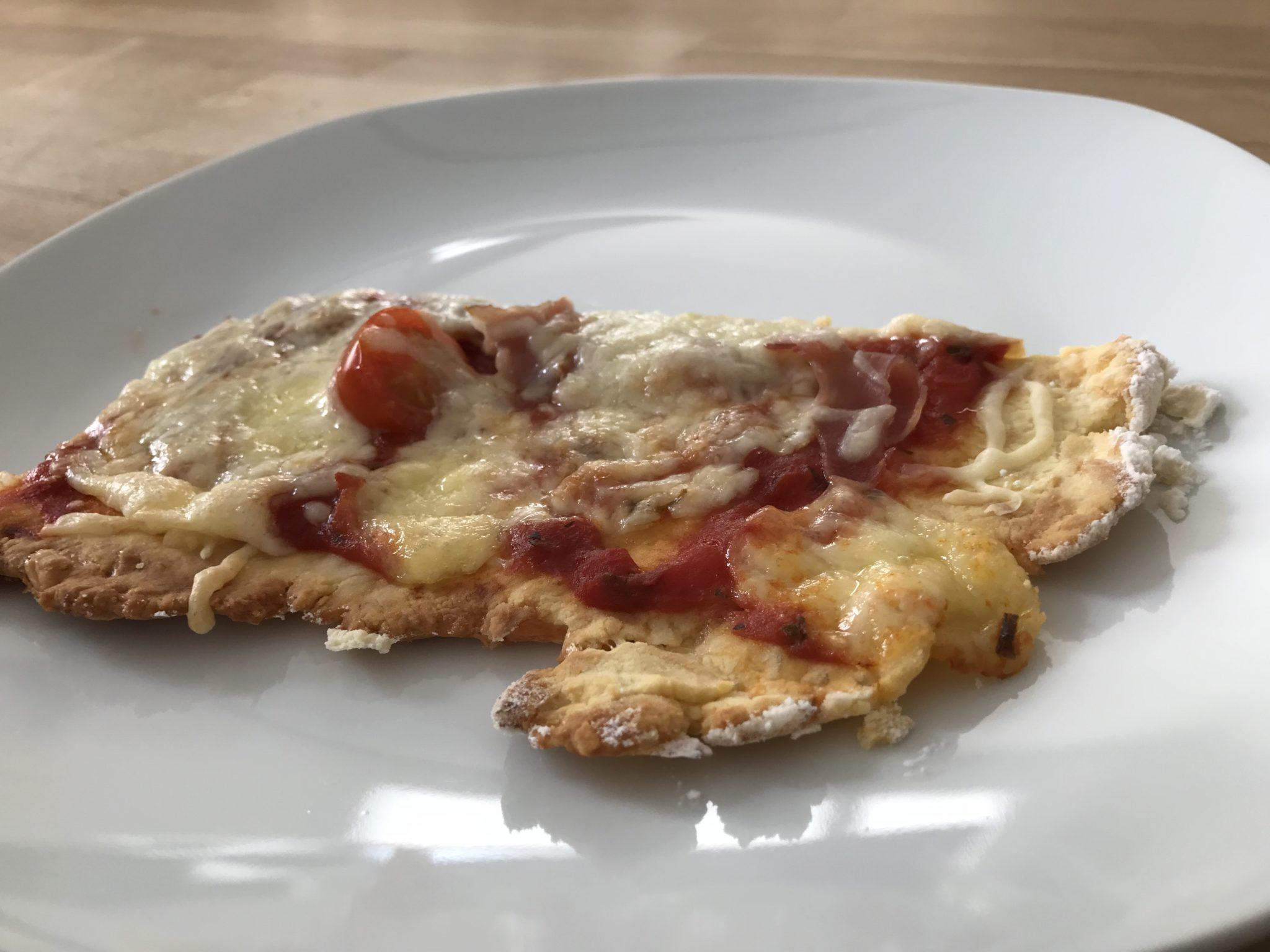 Leckere Keto Pizza Rezept mit Bambusfasern