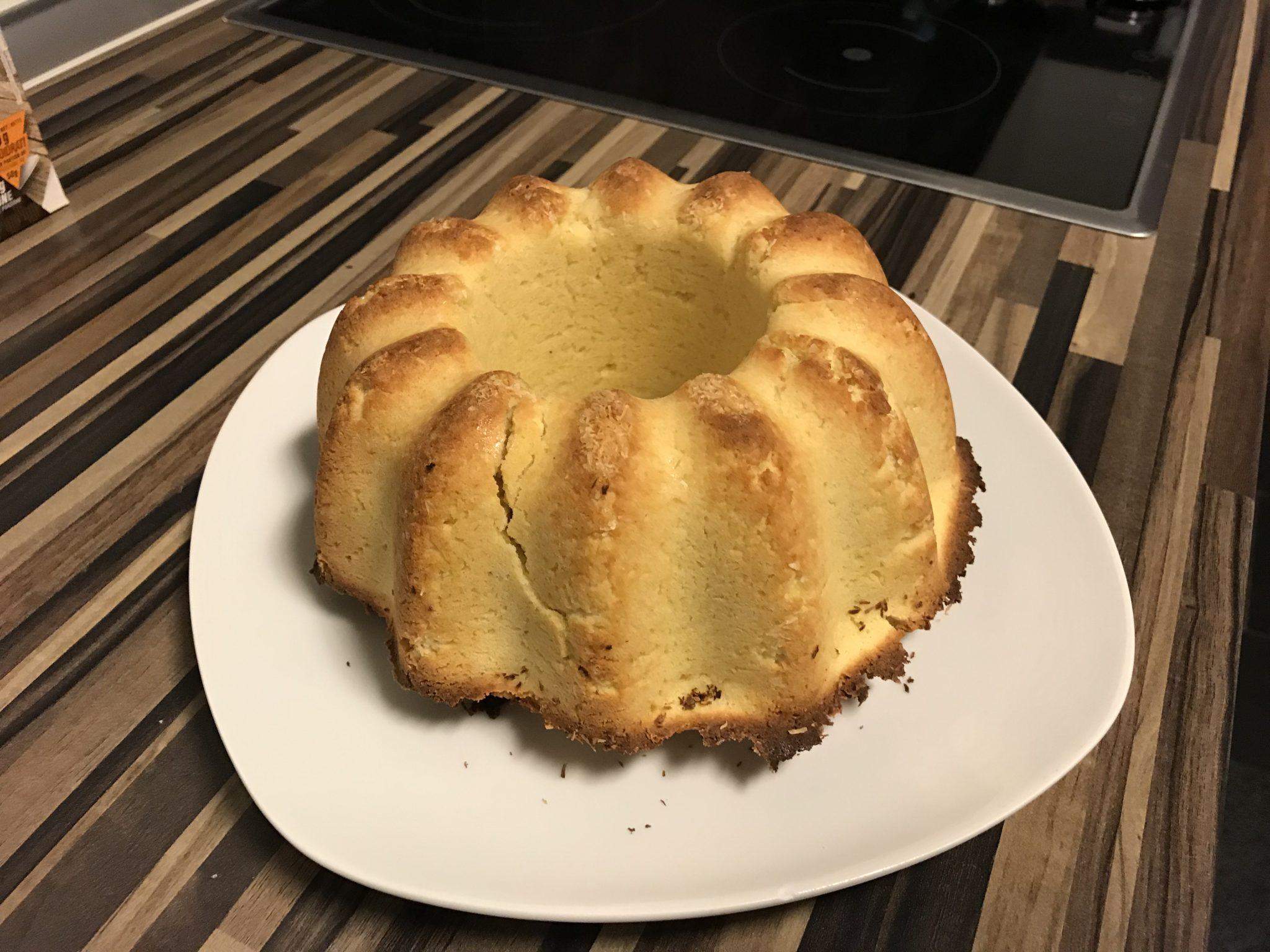 Einfacher Low-Carb Zitronenkuchen