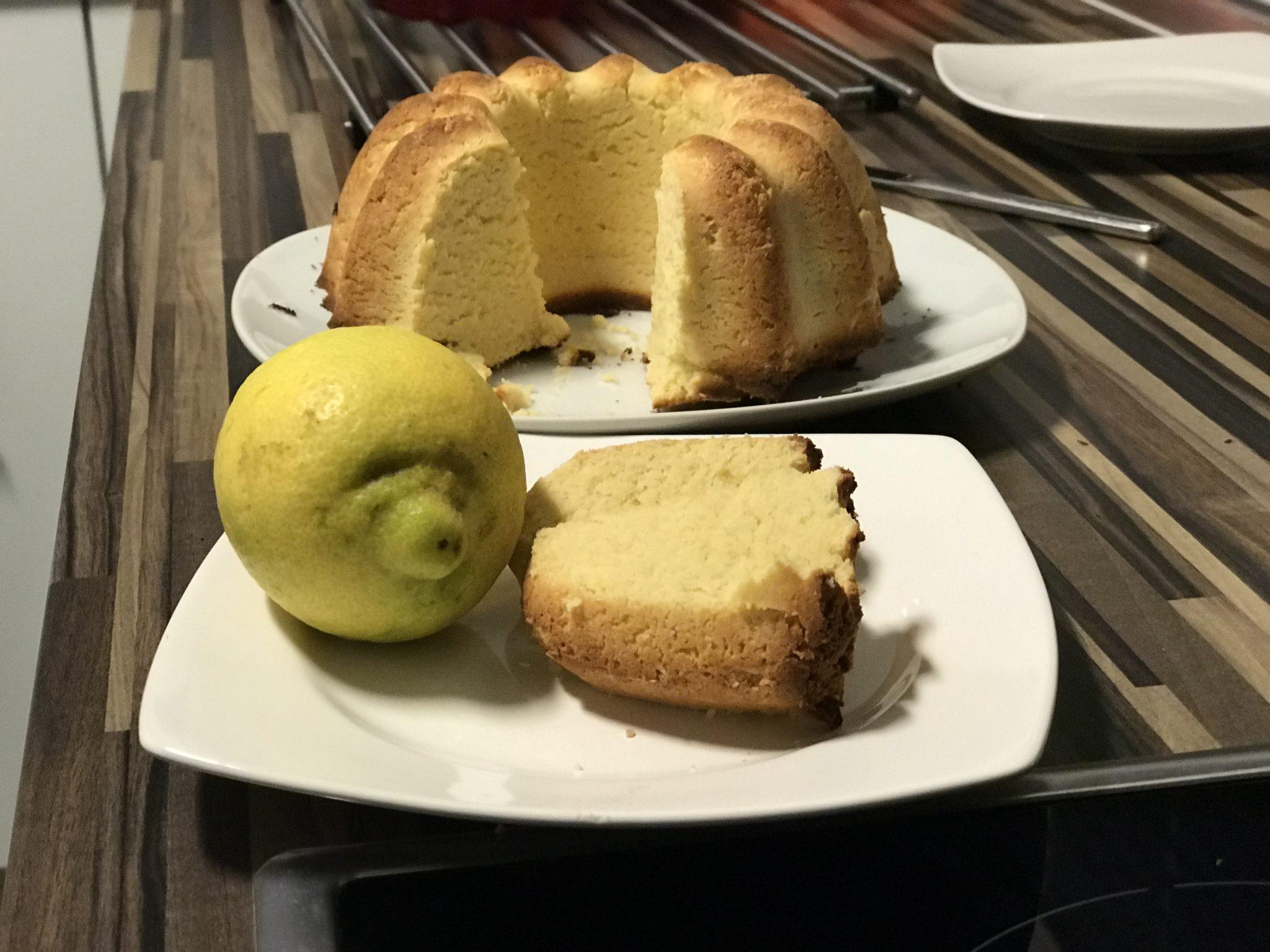 Zitronenkuchen Bambuskuchen Rezept