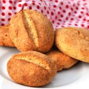 Rezept für einfache Low-Carb Brötchen