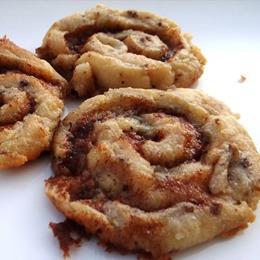 low carb weihnachts rezepte: Low-Carb Zimtschnecken