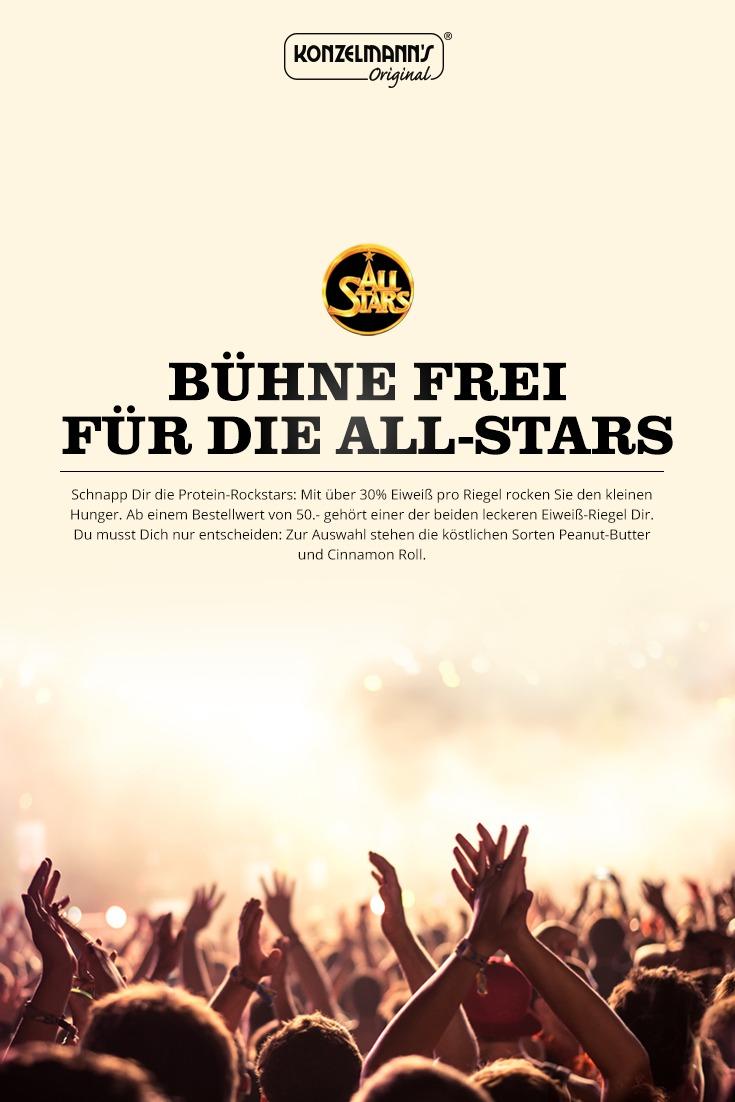 Bühne frei für die All-Stars