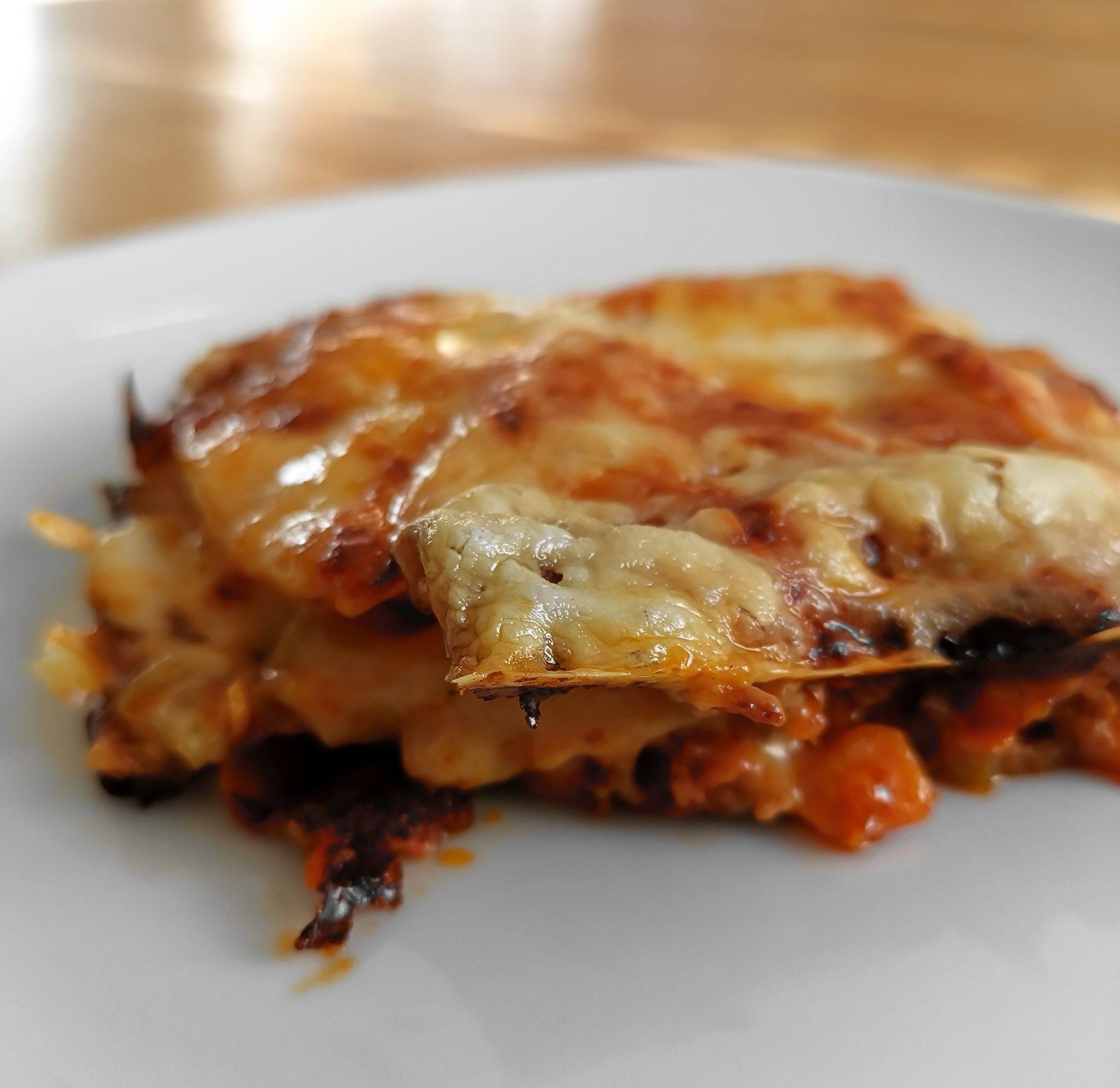 Leckere Protein Lasagne