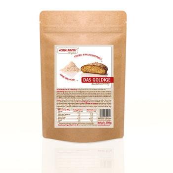 Low-Carb Brot Backmischung das Goldige