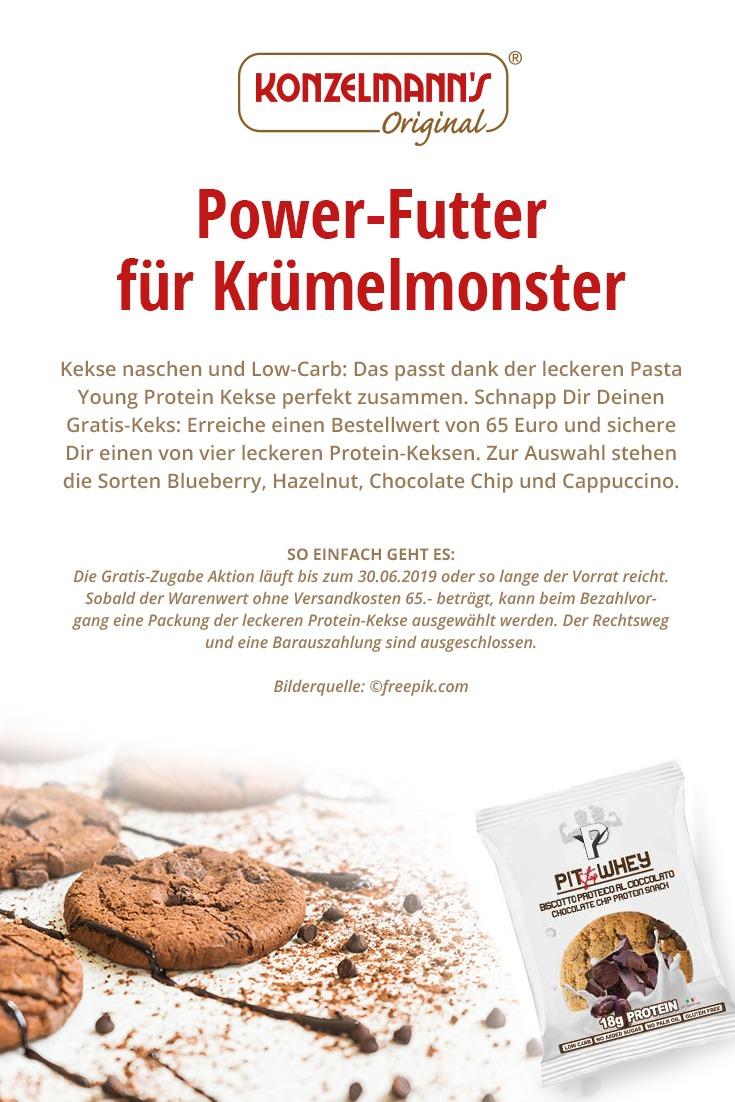 power-futter Low-Carb Kekse