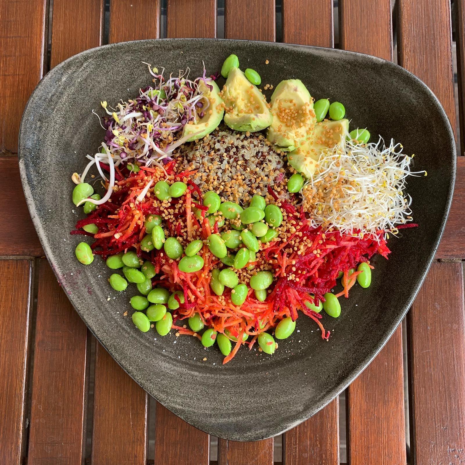 Zubereitung Basis Bowl Rezept Lower-Carb
