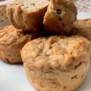 Fruchtige Protein Kokos Muffins