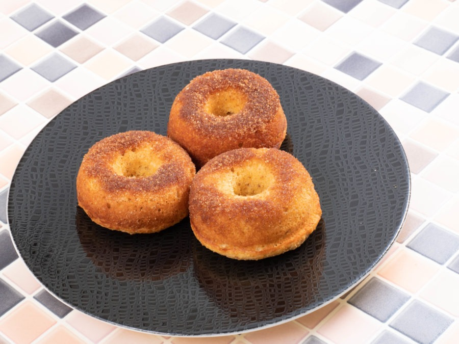 Low-Carb Protein-Donuts Rezept