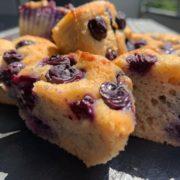Heidelbeer-Muffins Low-Carb
