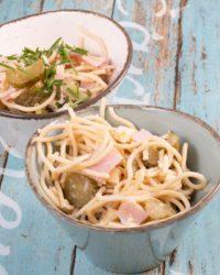 Protein Spaghetti Salat mit Nutriwell