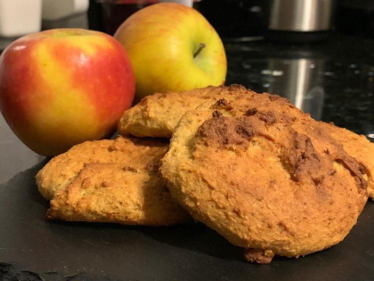 Soft Cake Taler Protein Apfel Kokos Low-Carb