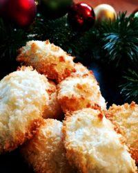 Rezept für Kokosmakronen ohne Zucker Zusatz