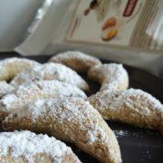 Rezept für Vanillekipferl mit Proteinmehl