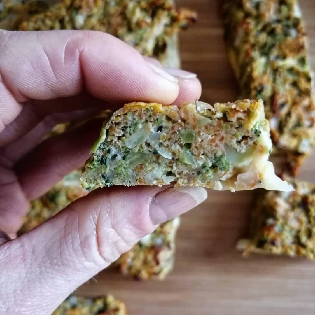 Rezeptbild Brokkolie Protein Riegel so können 100 Kalorien aussehen