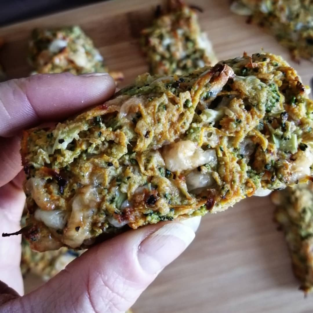 Zubereitung Brokkolie Protein Riegel so können 100 Kalorien aussehen