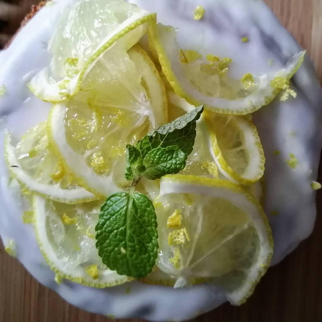 Rezeptbild Fluffiger Protein Zitronenkuchen mit nur 2g Zucker