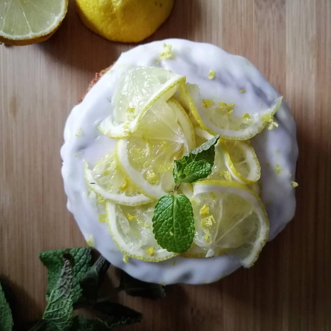 Zubereitung Fluffiger Protein Zitronenkuchen mit nur 2g Zucker