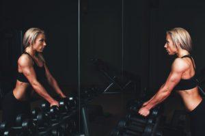Frauen und Protein
