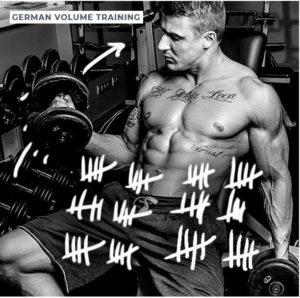 Volumenaufbau Volume Training
