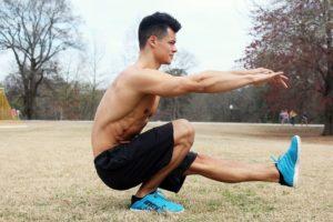 Mobilitätstraining für Kniebeugen