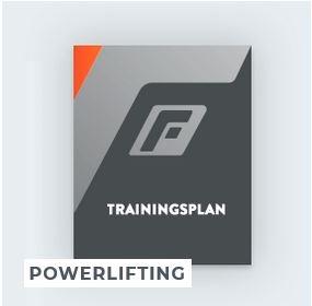 Trainingsplan Powerlifting